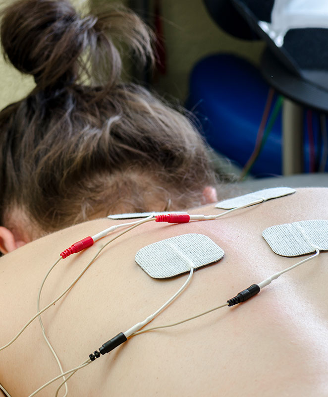 Electrical stimulation/interferential therapy
