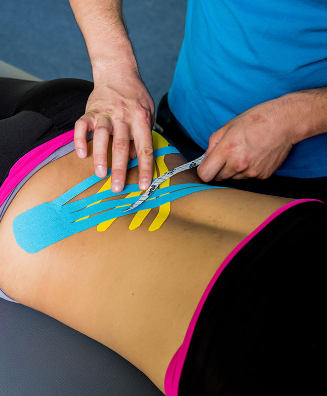 Kinesiotaping/McConnell taping